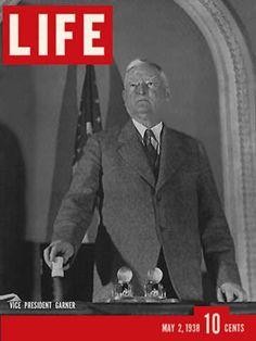 Look Magazine, Time Magazine, Magazine Covers, John Nance Garner, Life Cover, Male Figure, Vice President, Life Photo, Vintage Magazines