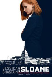 Miss Sloane (2016) In the high-stakes world of political power-brokers, Elizabeth Sloane is the most sought after and formidable lobbyist in D.C. But when taking on the most powerful opponent of her career, she finds winning may come at too high a price.
