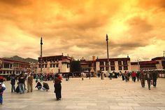 Barkhor Square  Lhasa, Tibet