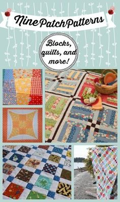 27 Free Nine Patch Quilt Patterns + Other Nine Patch Designs | FaveQuilts.com