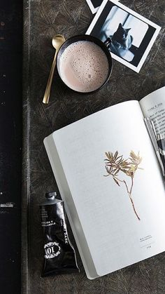 book, wallpaper, and coffee image