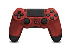 Fire Red Dualshock 4 Controller #playstation4 #ps4 #colored #gaming #sony