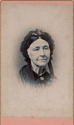 Elderly Widow, Unmarked Albumen Carte de Visite, Circa 1862 | Flickr - Photo Sharing!