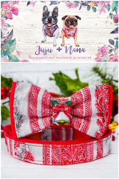 Christmas Dog, Christmas Gifts, Bow Tie Collar, Dog Bowtie, Dog Harness, Bows, Xmas Gifts, Arches, Christmas Presents