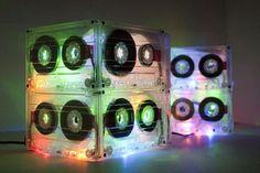 80's cassette light