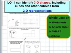 Letter M Worksheet For Preschool Pdf Whole Lesson  D Shapes  Features  Properties  Sorting  Eukaryotic Cell Structure Worksheet with Changing Fractions Into Decimals Worksheet Nets  D Shapes Represented By D Shapes  Geometry  Position Of Shape   Ks Math 8 Worksheets Excel