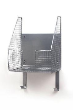 Spectrum Basket with Ironing Board Holder Spectrum http://www.amazon.com/dp/B001IAM9PK/ref=cm_sw_r_pi_dp_3Maiub0RD3YH6