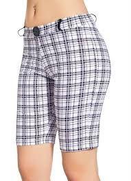 Resultado de imagem para bermudas femininas de alfaiataria Modest Shorts, Chor, Summer Shorts, Patterned Shorts, Short Skirts, New Look, Trousers, My Style, Womens Fashion