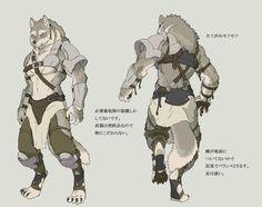 Werewolf's soldier2 by ~koutanagamori on deviantART #art #kunst #wolf #werwolf #werewolves #lycanthrope