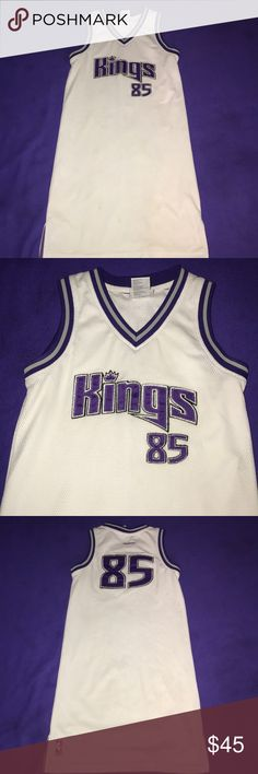 Jersey dress Sacramento Kings Jersey dress Reebok Dresses