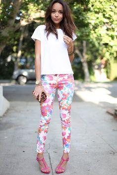 ooo printed pants