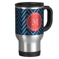 =>>Save on          Navy Blue Chevron Pattern | Coral Monogram Coffee Mug           Navy Blue Chevron Pattern | Coral Monogram Coffee Mug we are given they also recommend where is the best to buyDiscount Deals          Navy Blue Chevron Pattern | Coral Monogram Coffee Mug lowest price Fast ...Cleck Hot Deals >>> http://www.zazzle.com/navy_blue_chevron_pattern_coral_monogram_mug-168048548823886117?rf=238627982471231924&zbar=1&tc=terrest
