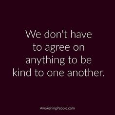 True. Kill em with kindness as my momma always told me :)