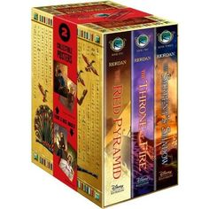 this is a book series that has also influenced me by making me believe that small thing can turn big. the author is rick riordan