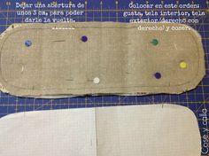 En mi página blog personal encontrarás patchwork, detalles con encanto, bordado, tutoriales, viajes, y muchas cosas más... Couture, Projects To Try, Patches, Reusable Tote Bags, Quilts, Embroidery, Sewing, Embouchure, Sultan