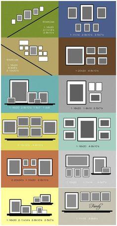 Fotowand gestalten - Tipps und kreative Ideen - Home deco - Style At Home, Diy Casa, Home Fashion, Nail Fashion, Photo Displays, My Dream Home, Decorating Tips, Interior Decorating, Hallway Decorating