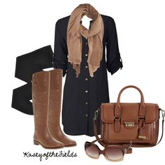What a great outfit. Casual office day or casual shopping day or stroll in the park day...chic and cute.