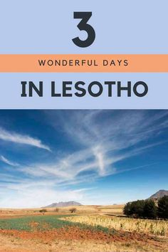 3 days in Lesotho - what to do in Lesotho, hiking and pony trekking the Lesotho mountains from Malealea Lodge, visit Lesotho from South Africa!
