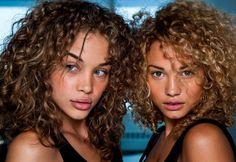 Stephanie Bertram Rose and Jasmine Sanders beautiful curls