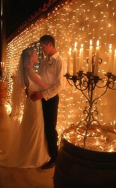 Wanting to do twinkle lights at our reception! I am needing Ideas for how to diy with twinkle lights! I was thinking 3M command strips