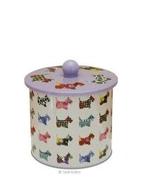 Biscuit Tin - Santoro's Scottie Dogs