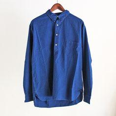 LEVI'S VINTAGE CLOTHING - 1920S ONE POCKET SUNSET SHIRT (DOT)/リーバイス・ヴィンテージクロージング