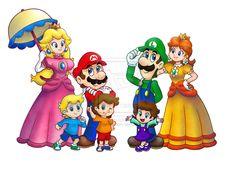 Mario Family Tree🌿 | Mario Amino |Luigis Family Tree