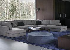 Contemporary stylish home featuring our Cenova sofa