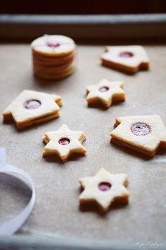 Moja kuchyňa: Linecké koláčiky
