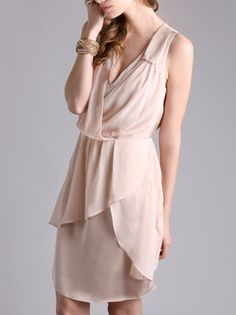 Theme Bridesmaid Brunch Layered Dress $64