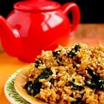 Kale Fried Rice-oh my goodness, so good.  And quick.  Next time I'll probably put in even more kale.