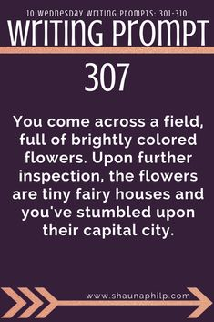 Welcome back to another week of Wednesday Writing Prompts. This week we discover fairy fields and more dialogue prompts! Writing Prompts For Writers, Writing Promps, Dialogue Prompts, Story Prompts, Fiction Writing, Writing Advice, Writing Help, Creative Writing, Writing Ideas