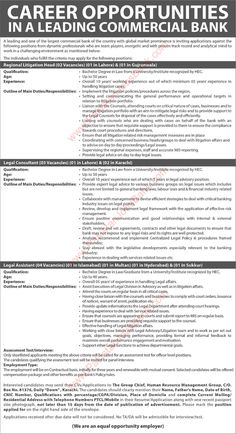 Habib metro bank jobs 2017 april management trainee officers mto bank jobs in pakistan november 2016 legal assistants consultants regional litigation heads latest yadclub Gallery