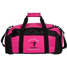Washington. Gymnastics bag  | An awesome gymnastics bag for a great gymnast.
