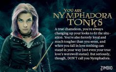 Nymphadora Tonks - Which Order of the Phoenix Member Are You? - Zimbio