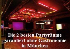 Partyraum für Selbstversorger in München