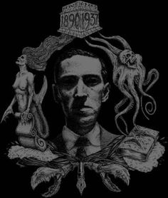 HP Lovecraft- back patch Motionless In White, Golden Girls, Necronomicon Lovecraft, Lovecraft Cthulhu, Call Of Cthulhu Rpg, Paul Jackson, Wallpaper Hp, Lovecraftian Horror, Eldritch Horror