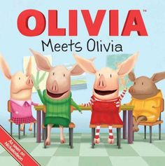"""When a new girl joins Mrs. Hoggenmuller's class, Olivia is very upset--they're both named Olivia! Olivia is convinced that she lives in a """"one Olivia town"""" so she decides to change her name to Pam. But Olivia doesn't feel Pam-ish--she feels Olivia-ish!"""