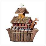 Wood Noah Ark's Birdhouse