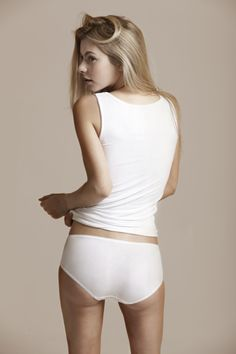 Fortnight Lingerie: The 2010 Collection Product: Modal Tank & Knickers