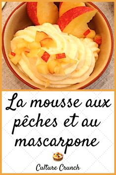 Mousse Dessert, Dessert Aux Fruits, Brookies, Cooking Chef, French Food, Coco, Smoothies, Deserts, Food And Drink