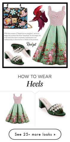 """""""Colorfully"""" by amra-sarajlic on Polyvore featuring vintage"""