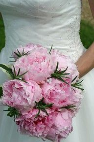 Peony- love the pearls tucked in