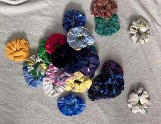 Iron on & vinyl transfers, scrunchies, earrings & more! Iron On Vinyl, Esty, Scrunchies, Etsy Seller, Hair Accessories, Create, Design, Dressmaking, Hair Accessory