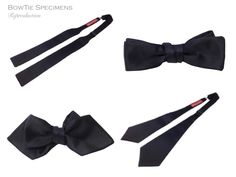 BowTie Specimens | Wide Pointed End 8cm width