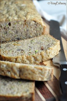This quick bread is sweet and moist, filled with freshly grated zucchini, walnuts, and cinnamon. The recipe makes two loaves, so you can freeze one for later!