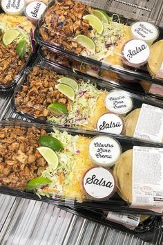 Costco's Ready-to-Eat Taco Kit Has Descended From the Heavens to Save Your Weeknight Dinners Chicken Taco Seasoning, Chicken Taco Recipes, Mexican Food Recipes, Drink Recipes, Costco Party Food, Costco Appetizers, Cilantro Lime Crema Recipe, Cilantro Lime Shrimp, Shrimp Tacos