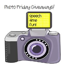 Speech Time Fun: Photo Friday Giveaways!!-fun new giveaway with a winner every Friday! (first winner 3/8/13) Pinned by SOS Inc. Resources. Follow all our boards at pinterest.com/sostherapy for therapy resources.