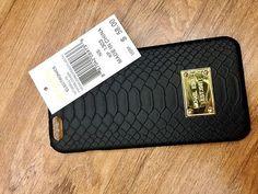 MK elegant Michael Kors Serpentine pattern Leder Flip Handyhülle für iphone 5/6/6S/6plus/6S plus/7/7plus