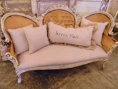 Maybe just recover the seats of armchairs in linen and leave the backs burlap?